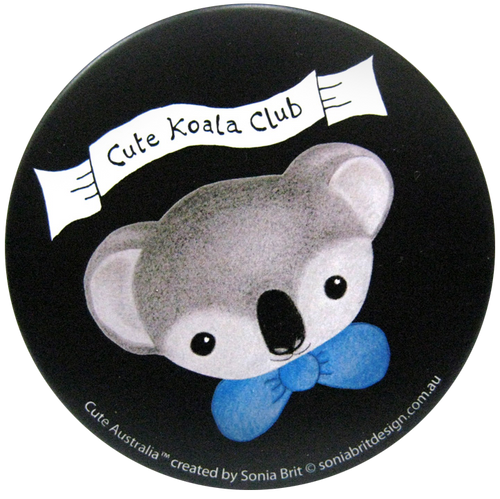 Cute Australia koala club mirror