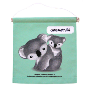 Cute Australia koala wall hanging