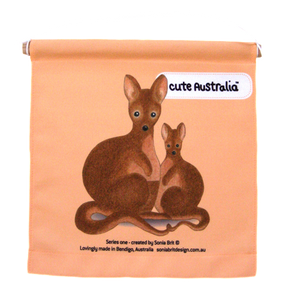 Cute Australia wallaby wall hanging