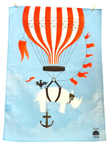 BOB HUB tea towel - Aviator