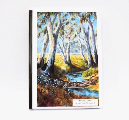 Gail Tavener journal - Bendigo Creek