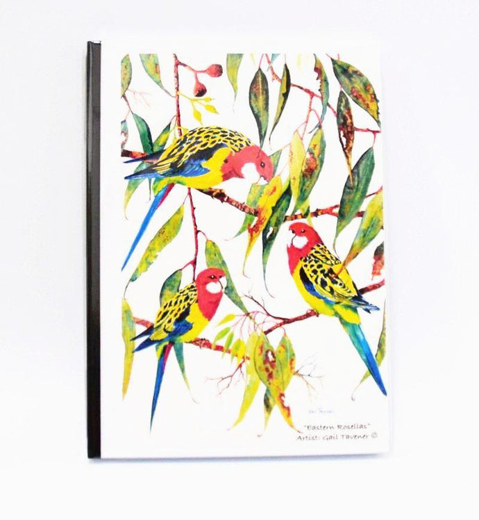 Gail Tavener journal - Eastern Rosellas