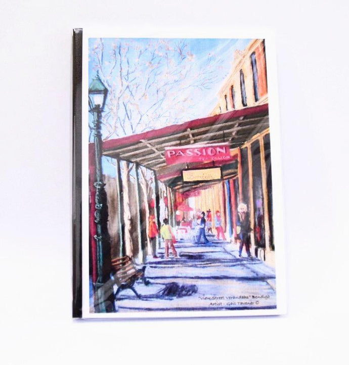 Gail Tavener journal - View st Verandahs