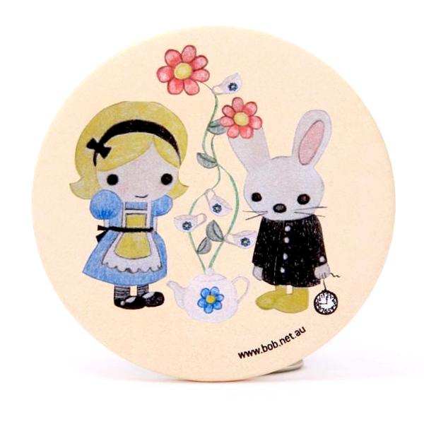 Bob mirror - Alice & White rabbit