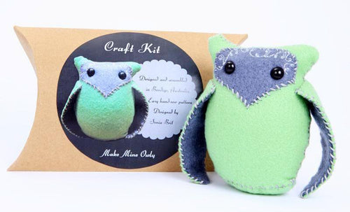 CRAFT KIT owl (available in multiple colours)