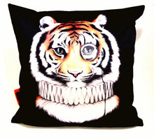 Load image into Gallery viewer, BOB HUB cushion cover (velvet) - Mr Tiger