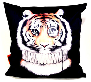BOB HUB cushion cover - Mr Tiger