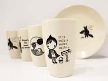 Load image into Gallery viewer, Sonia Brit design latte mug-short walk (1)