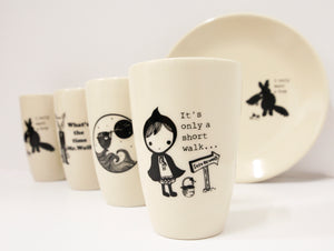 Sonia Brit Design latte mug-Mr.Wolf (1)