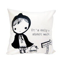 "Load image into Gallery viewer, Sonia Brit Design ""short walk"" cushion"