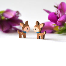 Load image into Gallery viewer, Sonia Brit studs - woodland deers