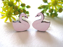 Load image into Gallery viewer, Sonia Brit studs - swans