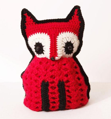 FOXY tea cosy red