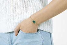 Load image into Gallery viewer, Taurus Green Onyx Alchemy Bracelet