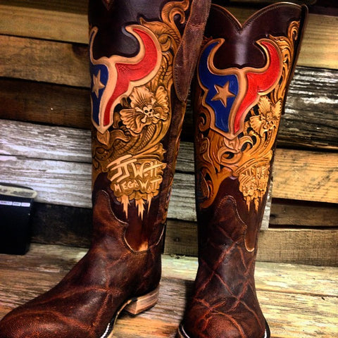 jj watt custom boots