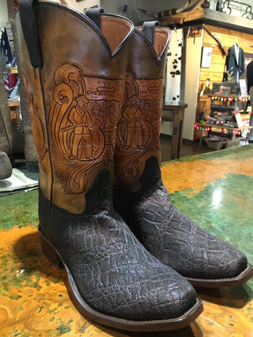 tooled boot