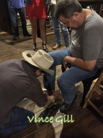 vince gill boots