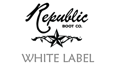 REPUBLIC BOOT CO WHITE LABEL