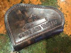 'Custom' - Hand-Tooled Pistol Case