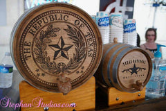 Personalized Wine & Whiskey Barrels