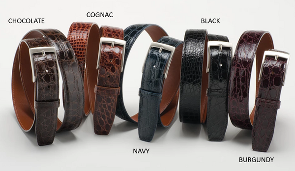 American Alligator Belt