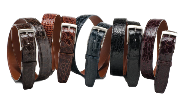 Caiman Crocodile Belt