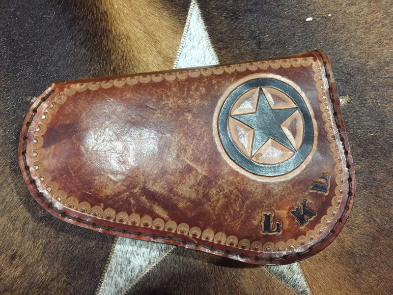 Pistol Case - Custom Hand Tooled
