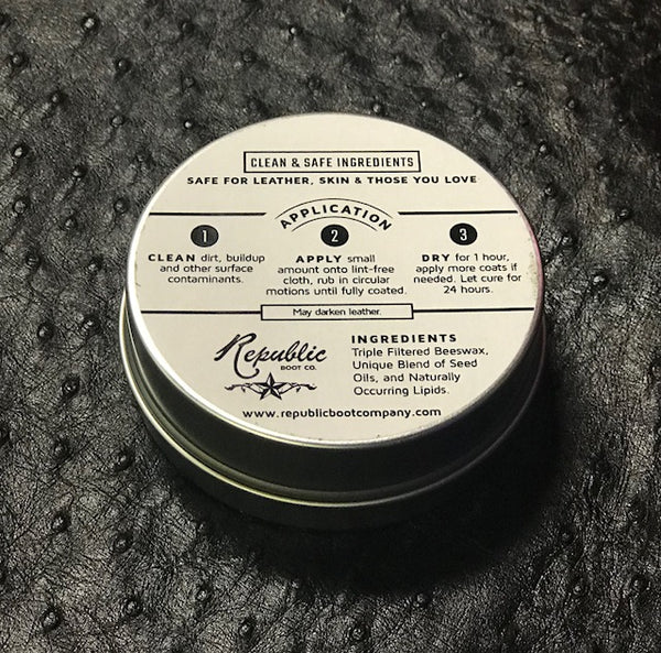 Republic Boot Co - Ultra Premium Ledercreme - handgefertigt