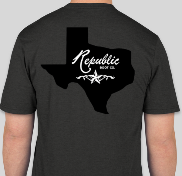 Black - Republic Boot Co T-Shirts
