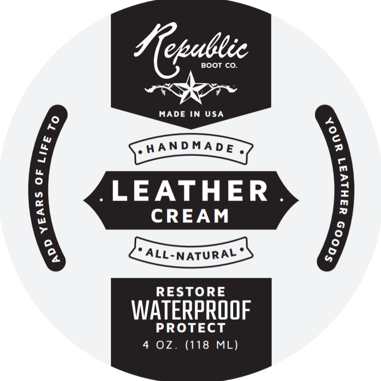 Republic Boot Co - Ultra Premium Leather Cream - Handmade