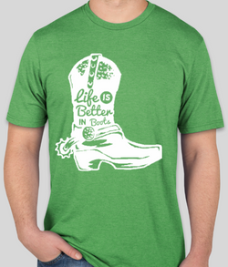 Boot Life! Ultra-Soft Tri-Blend