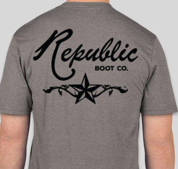 Grau - Republik Boot Co T-Shirts