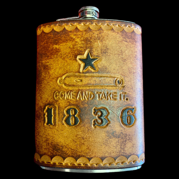 カスタムの Hand - Tooled Flask