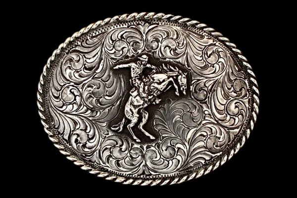 Bronc - Solid Silver