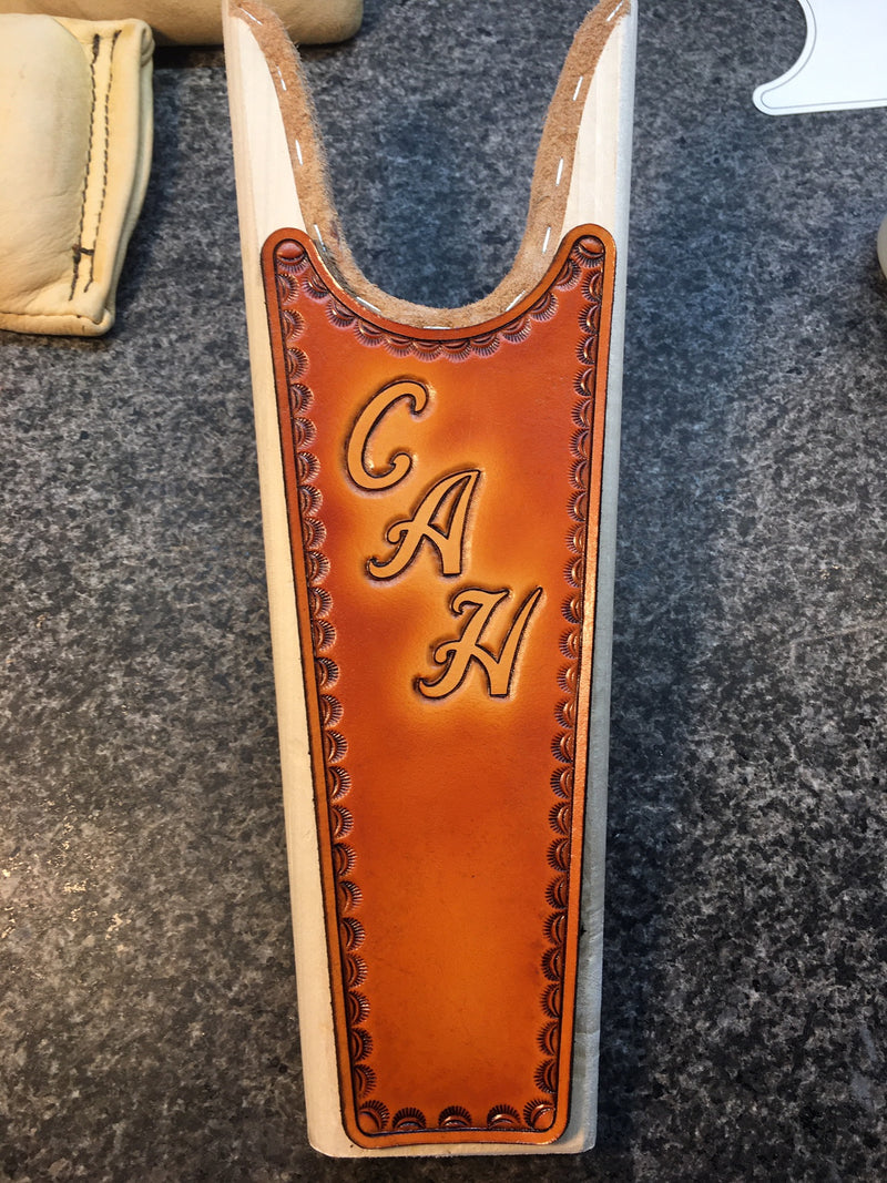 Boot Jack - Custom Hand-tooled