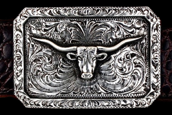 Longhorn - Solid Silver