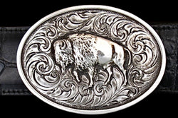 Bison - Solid Silver