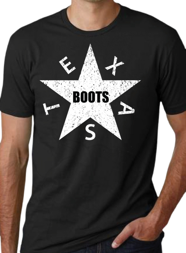 Lone Star Boots! Ultra-Soft Tri-Blend