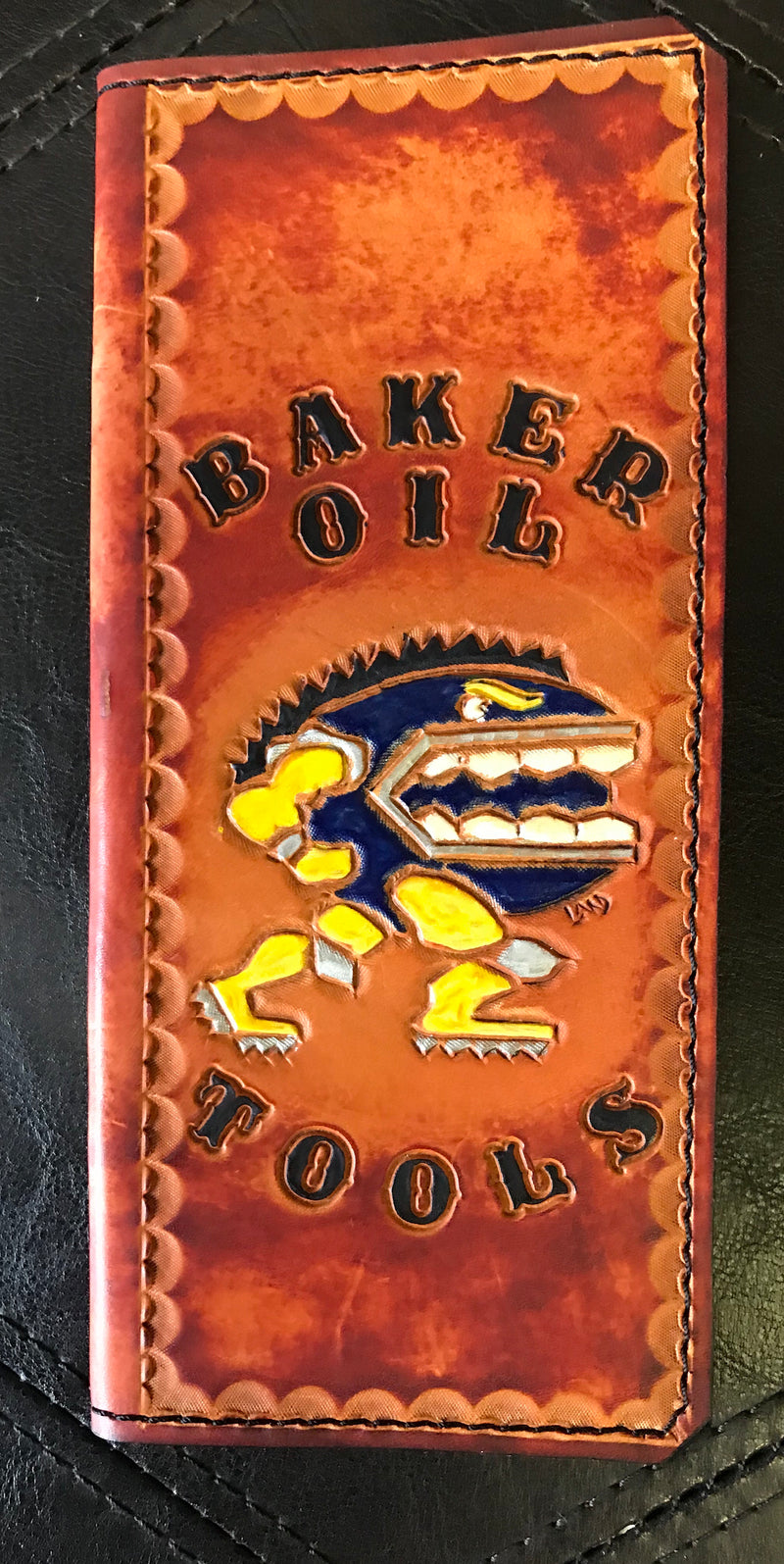 Custom Leather Tally Book