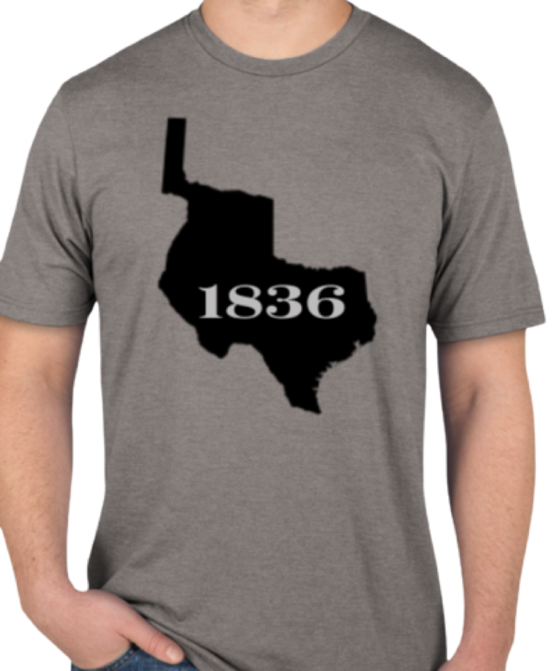 1836 Republic of Texas! Ultra-Soft Tri-Blend