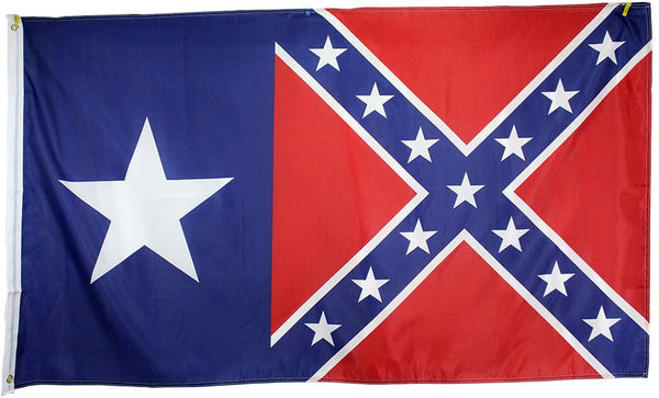 3x5' Poly - CSA Texas Battle Flag
