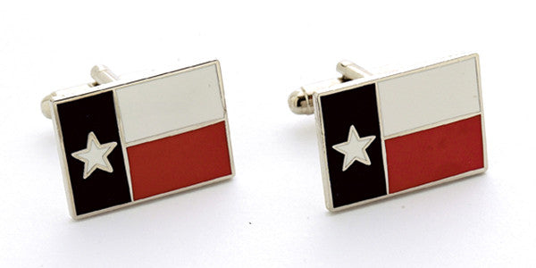 Texas Flag Cuff Links