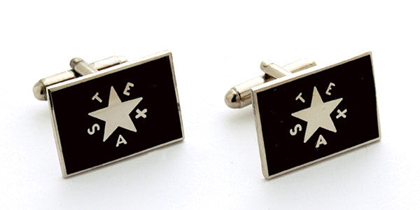 Texas Republic 1st Flag Cuff Links