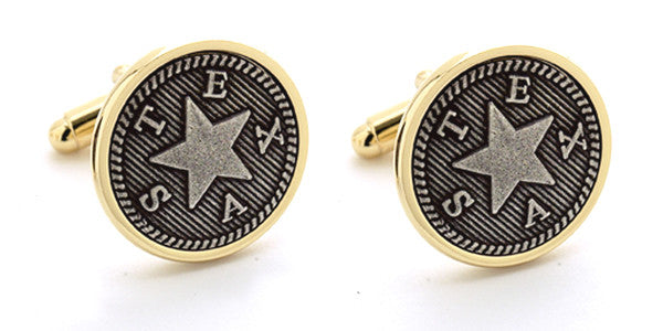 Texas Republic Cuff Links