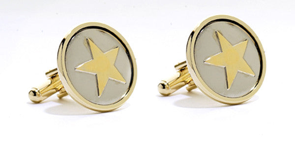 Lone Star Cuff Links