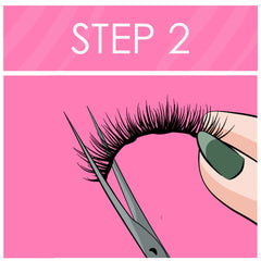 Cut magnetic lashes