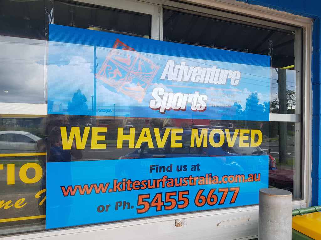 Adventure Sports Settling into our Move.