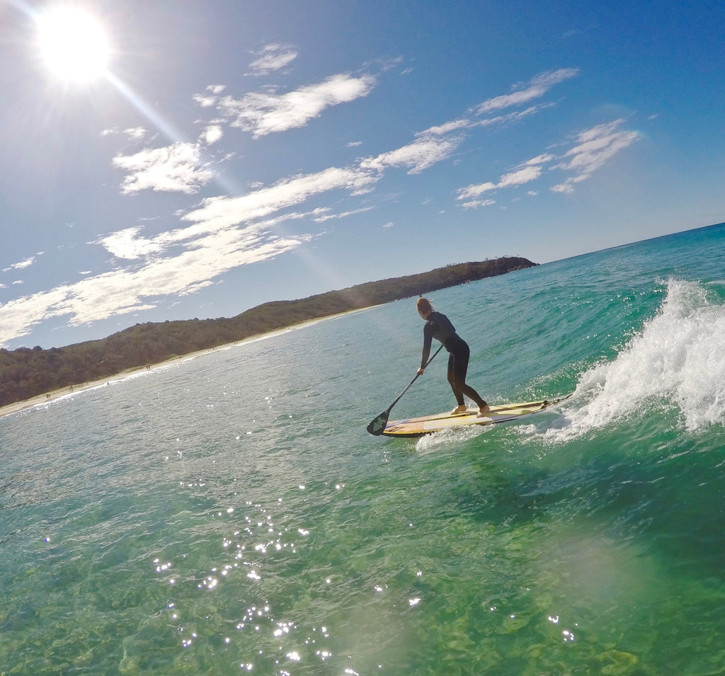 DI Kite and Noosa SUP Sessions