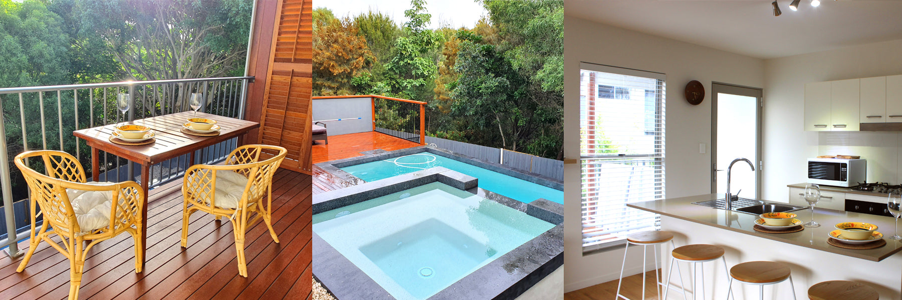 Noosa Holiday Unit Features Balcony, Full Kitchen and Pool