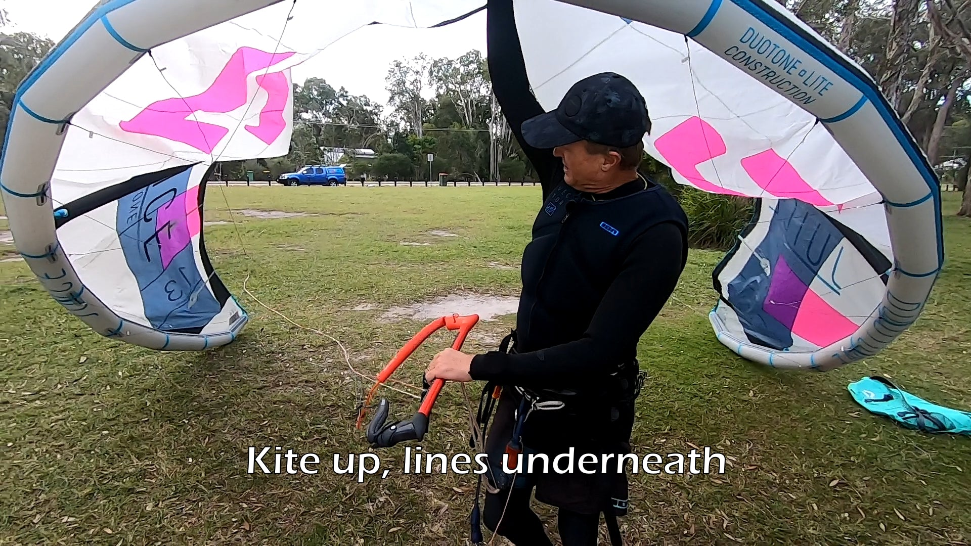 Getting Your Kite Onto The Water Safely